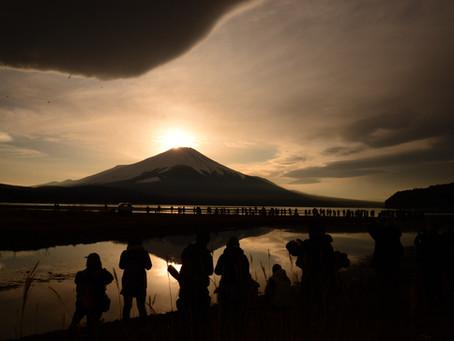 富士に魅了されて