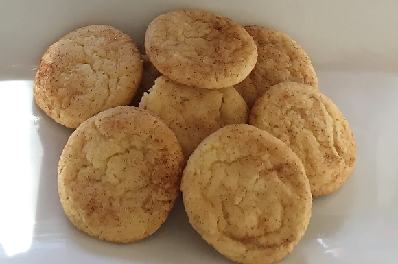 Butterfly Cookies -Snickerdoodle
