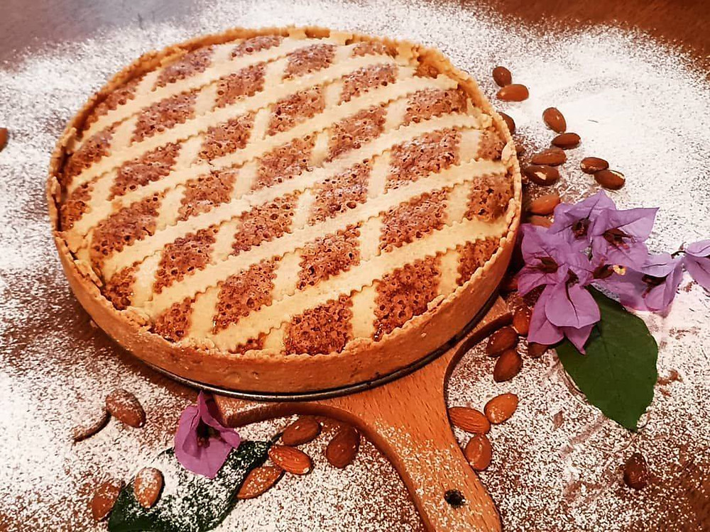 Makarana cake is a symbol of good cuisine in Makarska, Croatia