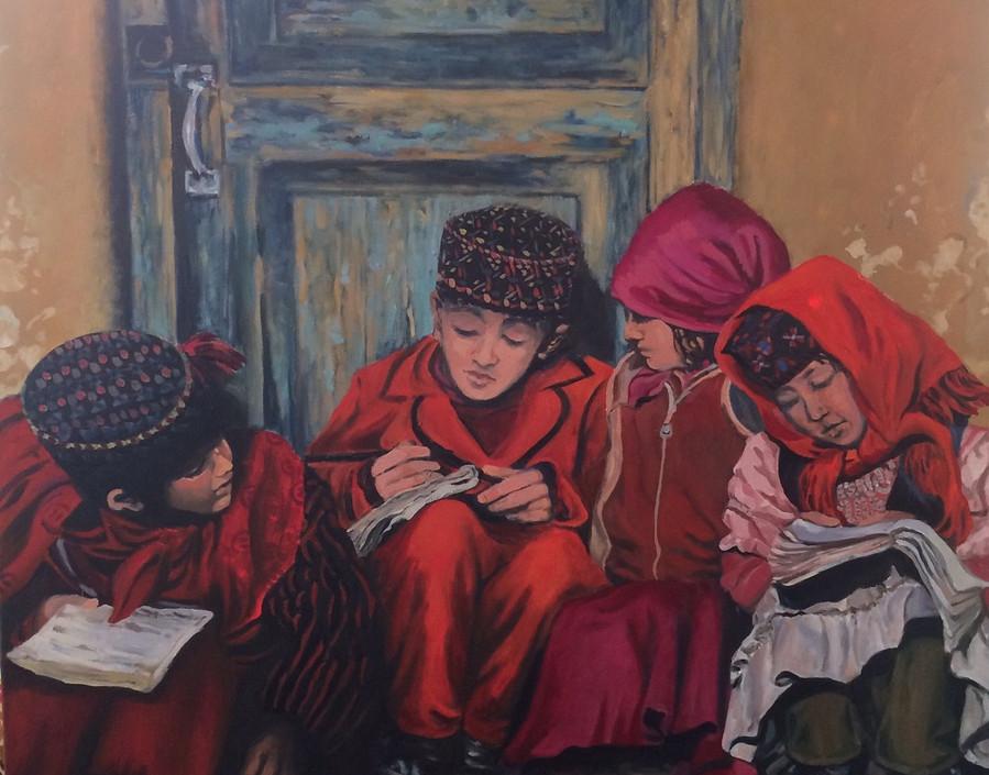 Ann Gardiner, Children of The Silk Road,