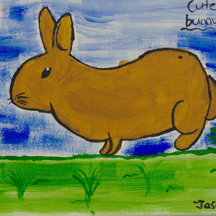 Jasmin Anderson, Cute Bunny, 10 yrs old.