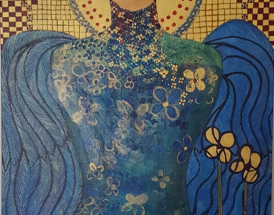 Josephine Marchese, Blue Angel, 2019.jpg