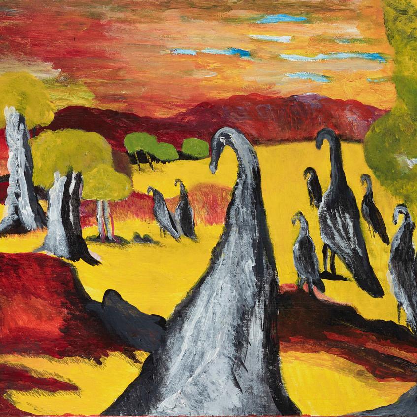 Waidjeroop, Many Emus