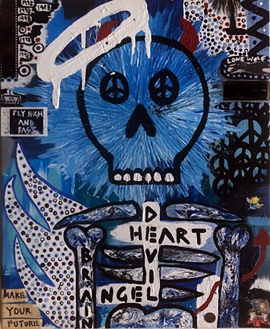 Ava Tye, Devil Heart Angel Brain, 2019.j