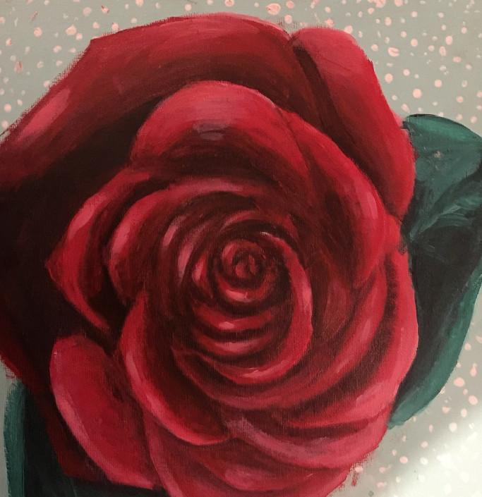 Kate Halvorson, Red Rose, 2019.jpg