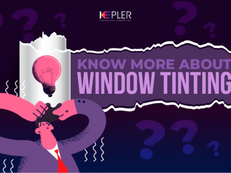 Know more about window tinting [Infographic]