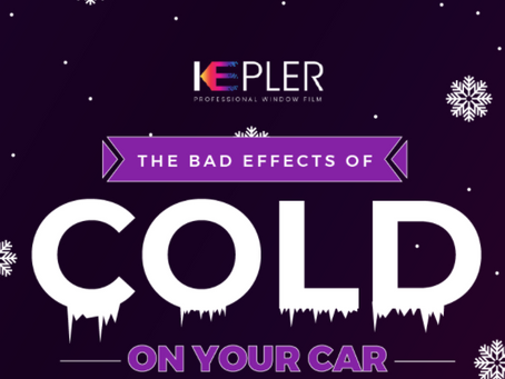 The bad effects of cold on your car [Infographic]