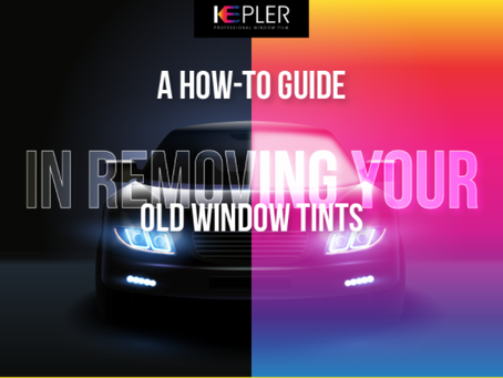 A how-to guide in removing your old window tints [Infographic]