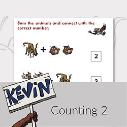 Printable activities for kids counting