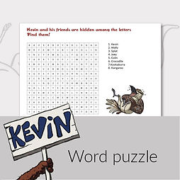 printable activities for kids word puzzle