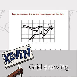 printable activities for kids grid drawing