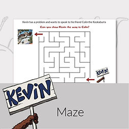 Printable activities for kids maze