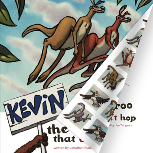 "Flipbook ""Kevin the kangaroo that couldn't hop"" - online access only"