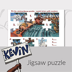 Printable activities for kids jigsaw puzzle