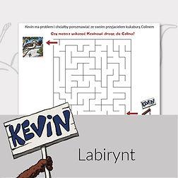 Zabawy do druku dla dzieci labirynt