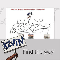Printable activities for kids find the way