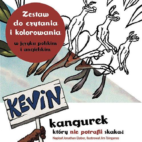 SIGNED BY THE AUTHOR Kevin kangurek który nie potrafił skakać - Two books set