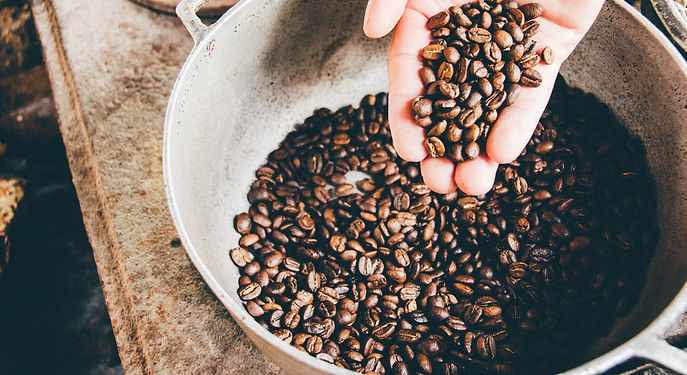 A Cup of Common Wealth Coffee Beans