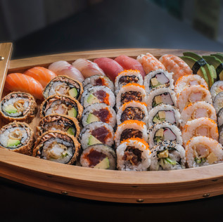Miyako Sushi and Steakhouse Sushi Boat