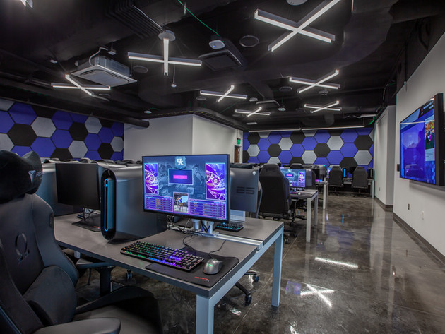 Esports Gamers Lounge with 50 PCs