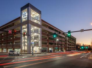 Cornerstone Garage with 900 new parking spaces