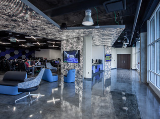 Esports Gaming Lounge leading to the Esports Theater