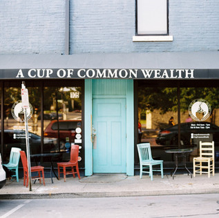 A Cup of Common Wealth Coffee Shop Exterior