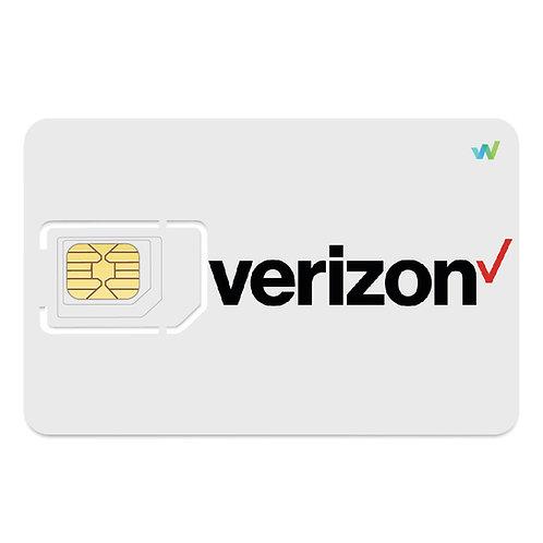 Verizon Triple-cut Sim Card