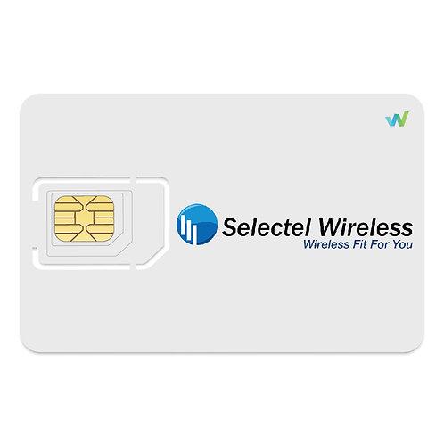 Selectel Triple-cut Sim Card