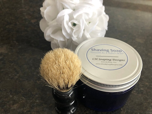 Men's Shaving Soap with brush