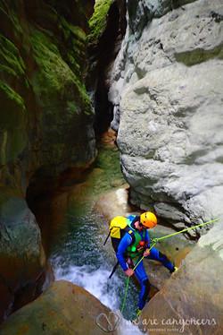 Manatuero and Yesa Canyons