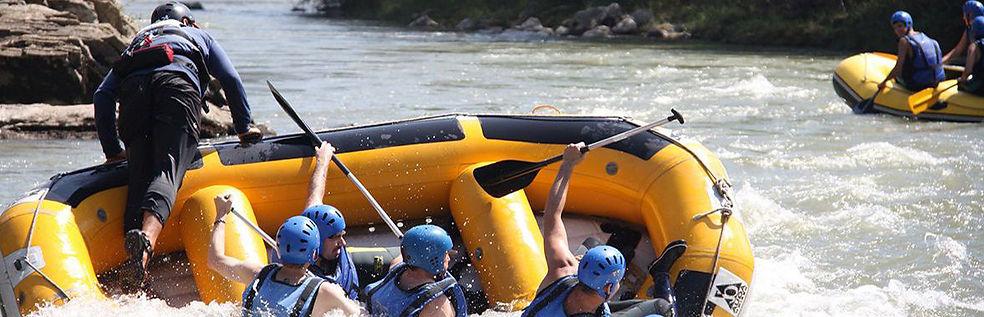 Rafting en Jaca