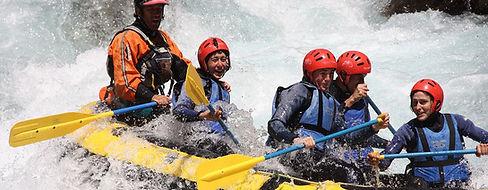 Rafting Familiar con Niños