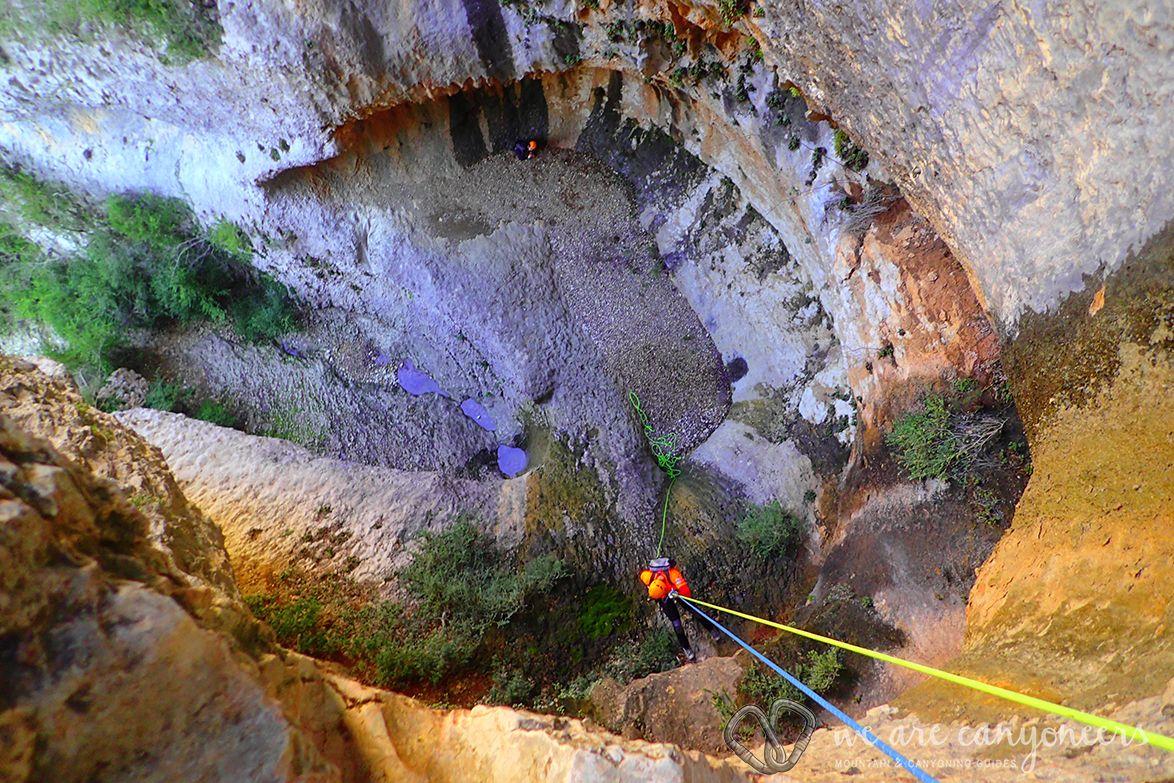 Portiacha and Basender Canyons