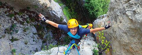 Canyoning and Via Ferrata