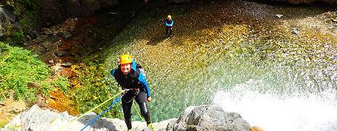 Barrosa Canyoning Pyrénées Espagne