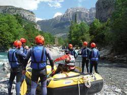 Rafting Torla