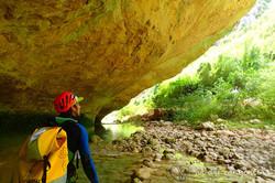 Barranco Chimiachas y Río Vero