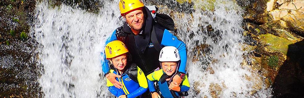 Vacaciones multiaventura familiar en Huesca y los Pirineos