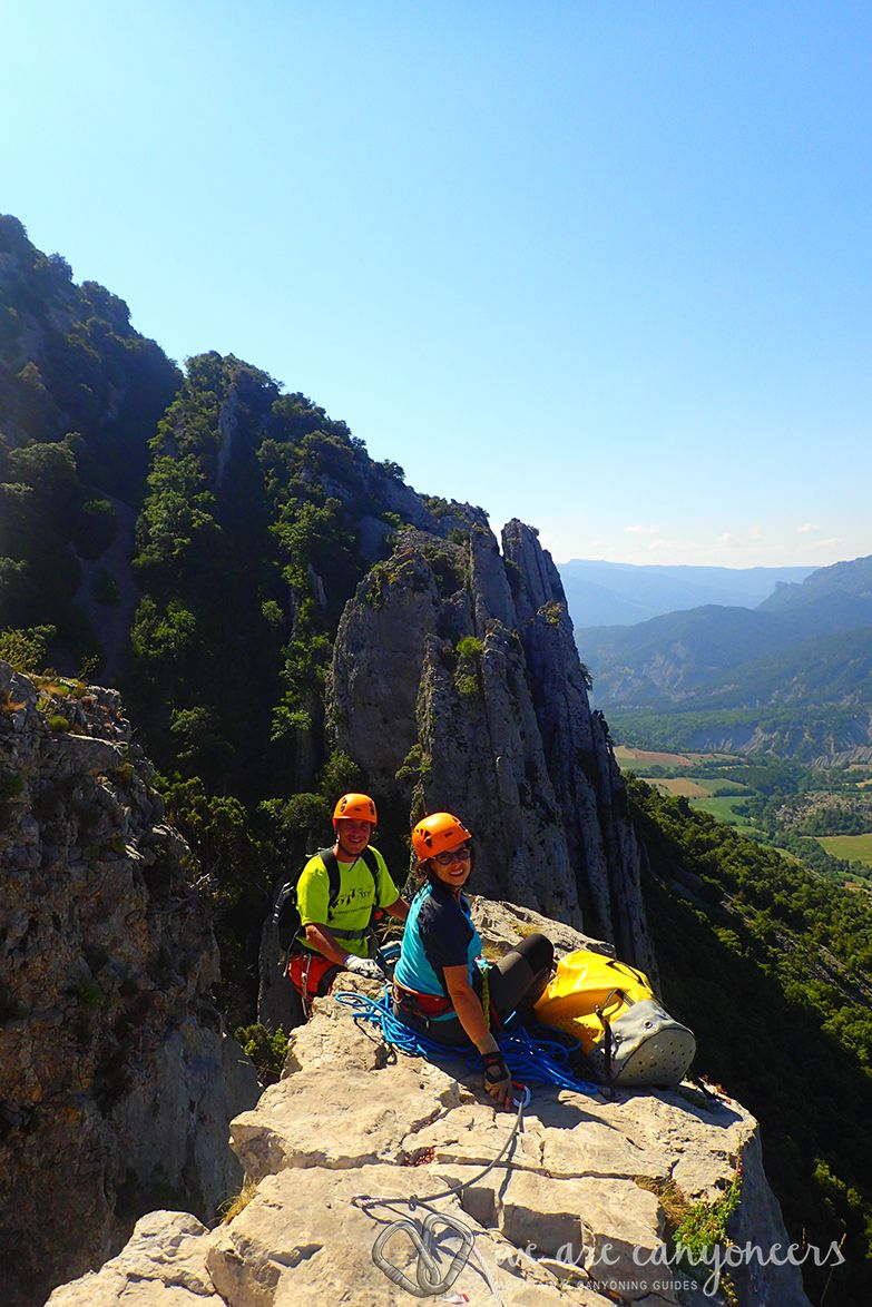 Via Ferrata of Foradada del Toscar