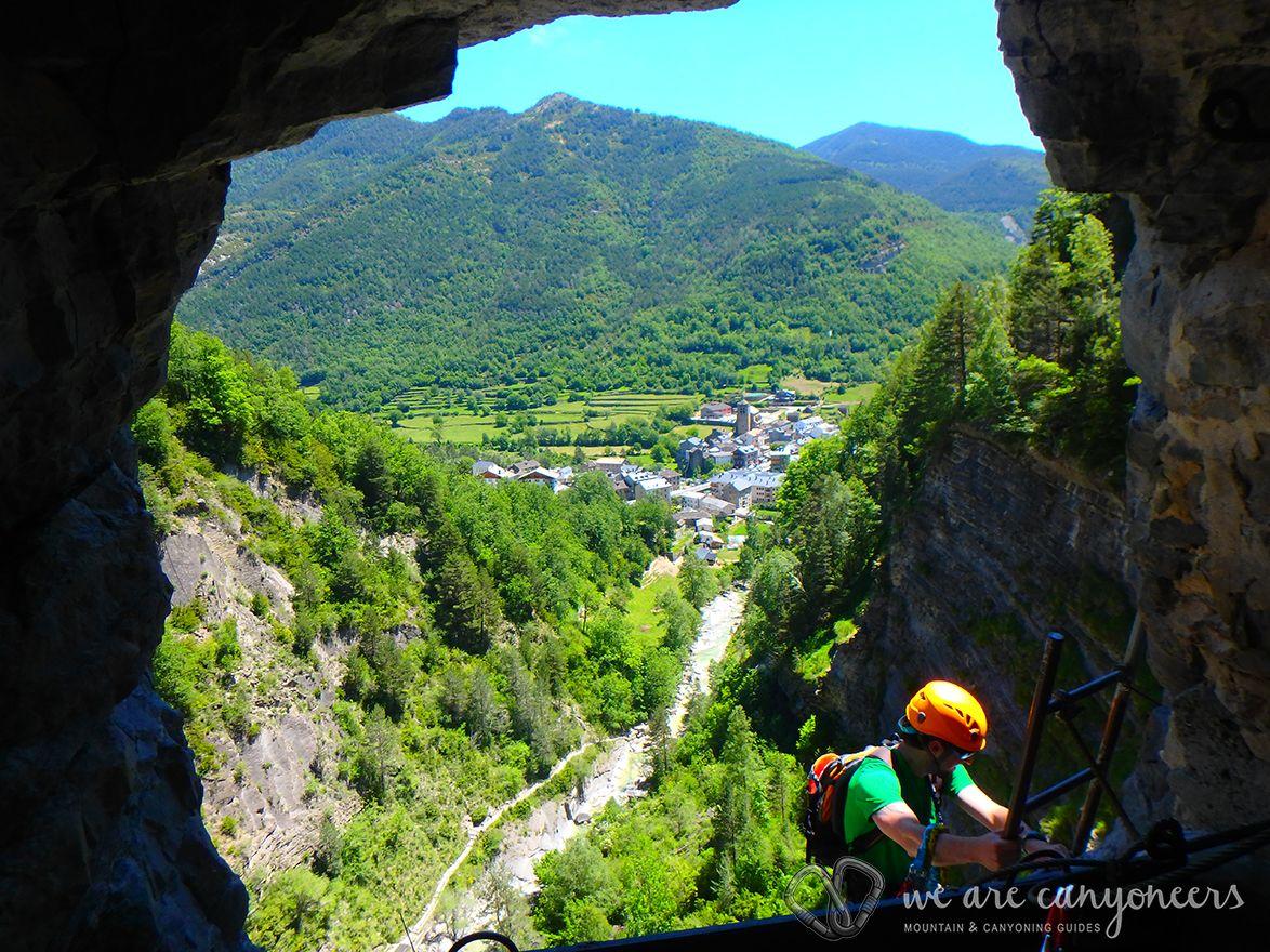 Via Ferrata de Sorrosal Pyrénées