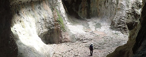 Canyon Sec Pyrénées Espagne