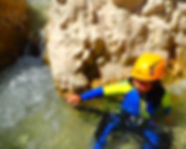 canyoning family spain pyrenees