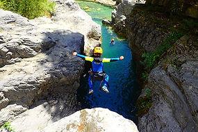 Family Canyoning Spain Pyrenees Viandico