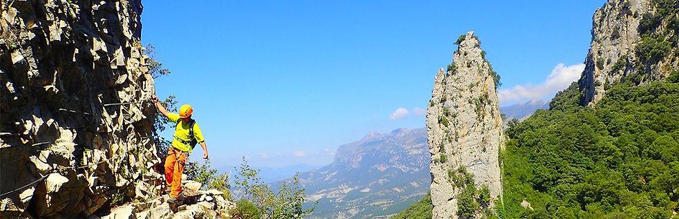 Vias Ferratas en Huesca: Pirineos y Ordesa Ainsa