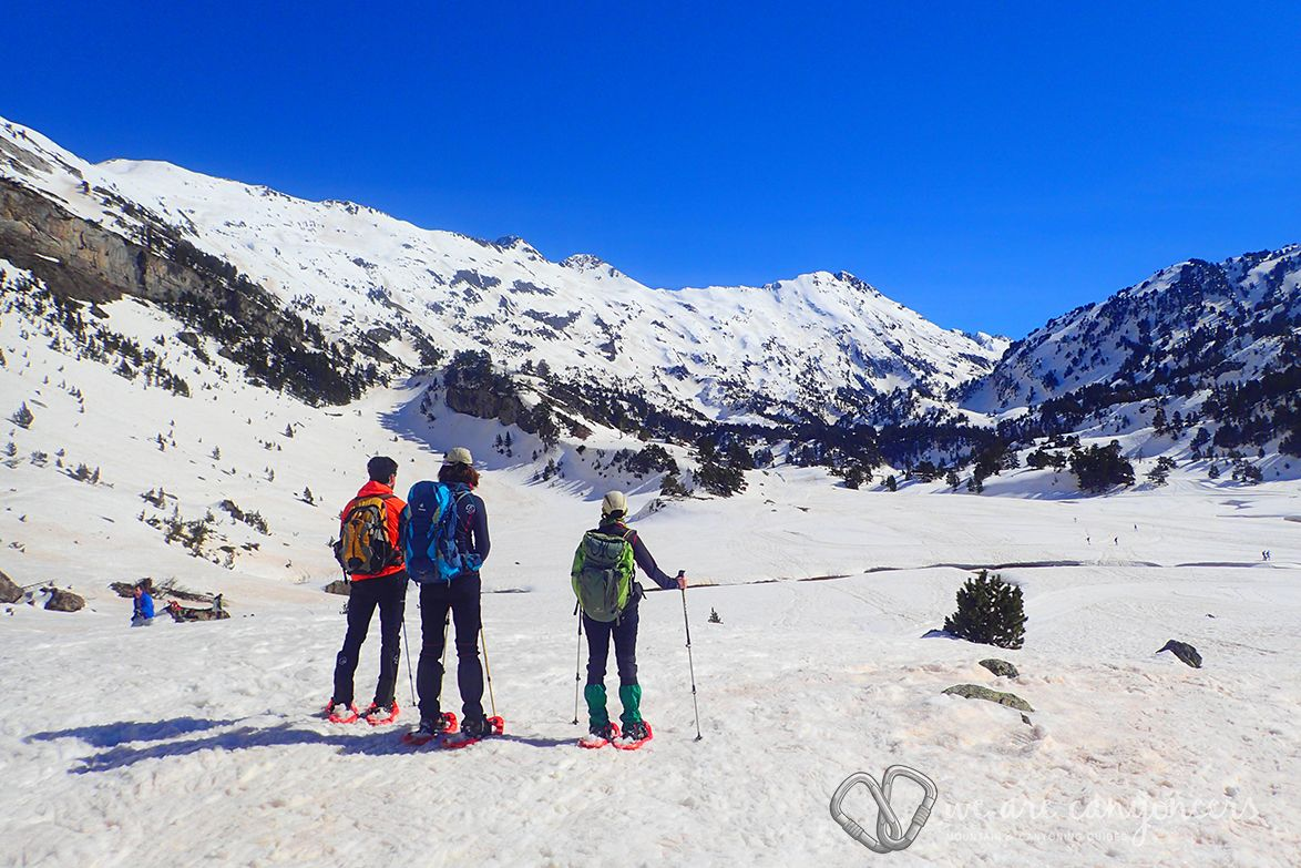 Snowshoeing Holiday Spanish Pyrenees