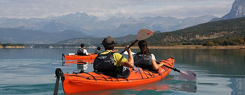 Kayak en Jaca
