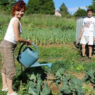 Aux Richesses - Jardin Agroécologique - Famille Klein