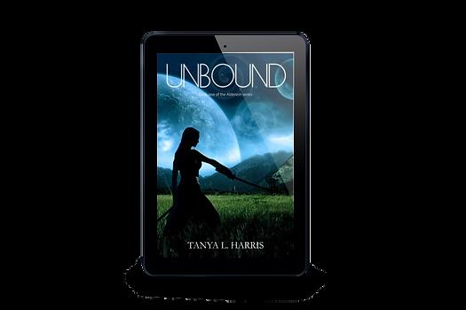 TITLE:  UNBOUND, Book one of the Alderash Series