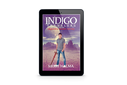 TITLE:  Indigo Travelers and the Dragon's Blood Sword Book 1